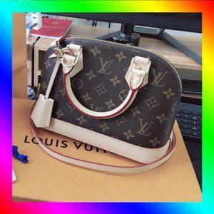 💥Louis Vuitton💥 LV Alma BB Mini Handbag Crossbody Bag Shoulder